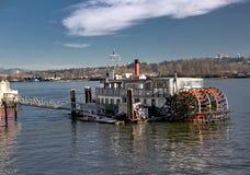 Barco rodado travesía Foto de archivo libre de regalías