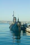 Barco ruso submarino del ataque Fotografía de archivo