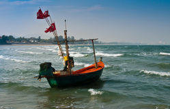 Barco só. fotografia de stock royalty free