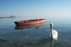 Barco salva-vidas. Foto de Stock Royalty Free