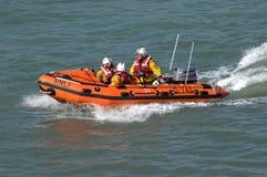 Barco salva-vidas de alta velocidade inflável Imagem de Stock Royalty Free