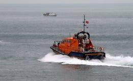 Barco salva-vidas de Eastbourne foto de stock royalty free