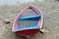 Barco, seca, água, pesca, crise, negócio, dano, solo, alterações climáticas imagens de stock royalty free
