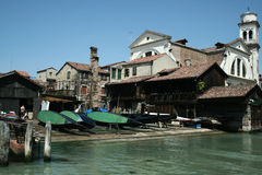 Barco Servise Imagenes de archivo
