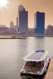 Barco solar Fotografía de archivo