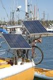 Barco solar Imagem de Stock