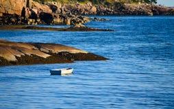 Barco solitario Fotos de archivo libres de regalías