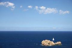 Barco solo Imagen de archivo libre de regalías