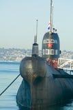 Barco submarino do ataque do russo Foto de Stock Royalty Free