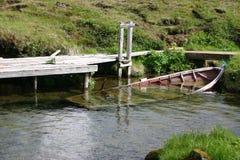 Barco Sunken Imagens de Stock