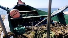 Barco típico de Arte Xavega almacen de metraje de vídeo