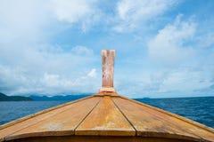 Barco tailandés del estilo Fotografía de archivo libre de regalías