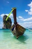 Barco tailandés tradicional de la cola larga Foto de archivo libre de regalías