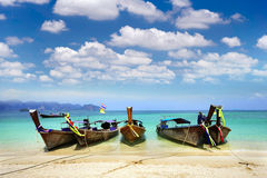 Barco tailandês tradicional Imagens de Stock Royalty Free