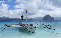 Barco tradicional de Filipinas foto de stock royalty free