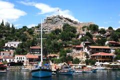 Barco tradicional na baía Turquia Imagem de Stock Royalty Free