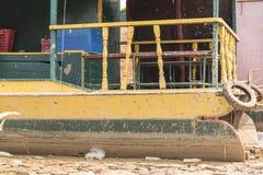 Barco turístico cerca de Siem Reap Fotos de archivo libres de regalías