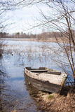 Barco velho Fotos de Stock Royalty Free