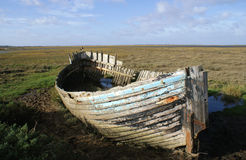 Barco velho do caranguejo Imagem de Stock