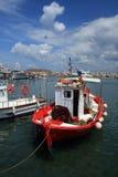 Barco vermelho Foto de Stock