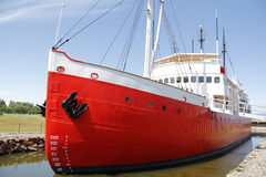 Barco vermelho Foto de Stock Royalty Free
