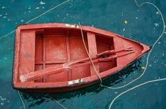 Barco vermelho Imagens de Stock Royalty Free