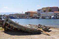 Barco viejo. Fotografía de archivo