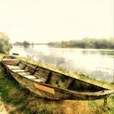 Barco viejo Fotografía de archivo libre de regalías