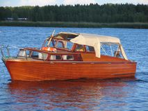 Barco viejo de la moda Imágenes de archivo libres de regalías