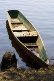 Barco viejo de los fishermans Foto de archivo libre de regalías