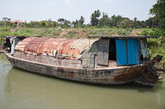 Barco viejo de madera Imagenes de archivo
