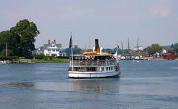 Barco viejo del vapor Fotografía de archivo