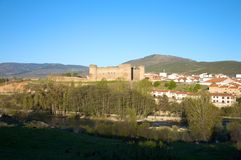 Barco village castle Royalty Free Stock Photos