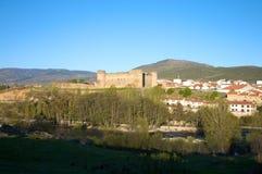 Barco village castle Royalty Free Stock Photos