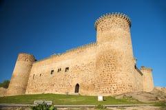 Barco village castle front Stock Image