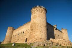 Barco village castle side Royalty Free Stock Images