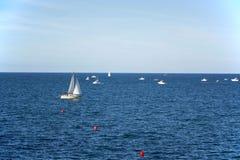 Barco y mar Foto de archivo