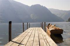 Barco y topo Imagenes de archivo