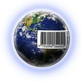 barcode świat royalty ilustracja