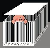 barcode славный Стоковое фото RF