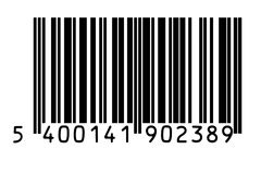 Barcode. Isolated on white background