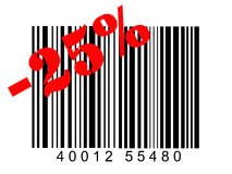 Barcode Arkivfoton