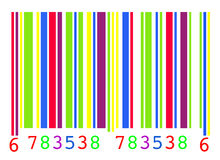 barcode Obraz Stock