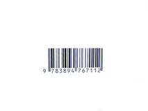 Barcode. Simple barcode of any product stock images