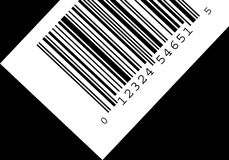 Barcode. High resolustion bar code Royalty Free Stock Image