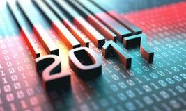 Barcode 2017 Stockfotos