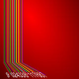 Barcode abstract background Royalty Free Stock Images