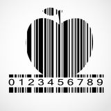 Barcode Apple Image Vector Illustration Royalty Free Stock Images