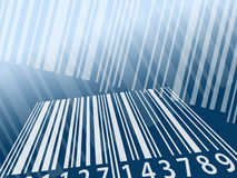 Barcode background Stock Photo