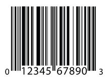 Barcode background Stock Photography